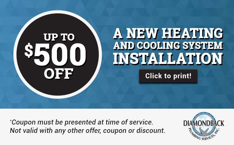 $500 Off New AC Install - Call For Details