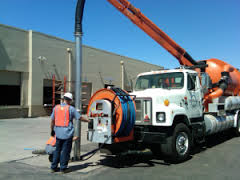 hydrojetting catch basin drain cleaning in Phoenix