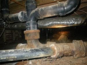 cast iron pipe repair scam