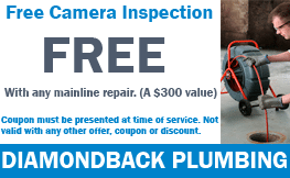 Free Camera Inspection With Any Mainline Repair (A $300 value)