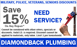 Military, Police, Veterans, and Seniors Save 15%